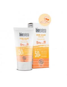 Bioregena Crème Solaire Spécial Bébé Spf50+ hypoallergénique sans parfum ni alcool. 40ml -