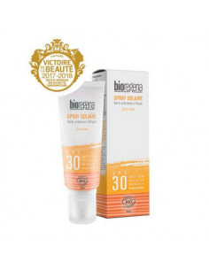 Bioregena Spray Solaire Spf 30 Haute Protection Naturelle & Hypoallergénique. 90ml -