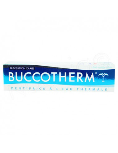 Buccotherm Dentifrice à l'Eau Thermale Prévention Caries. 75ml