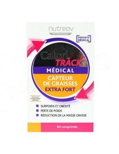 Nutreov Calori Track Médical Capteur de Graisses Extra Fort. 60 comprimés