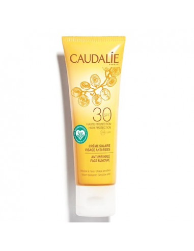 Caudalie Crème Solaire Visage Anti-rides SPF30. 50ml