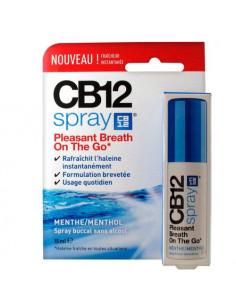 CB 12 Spray fraîcheur instantanée menthe/menthol Spray de 15ml Meda - 1