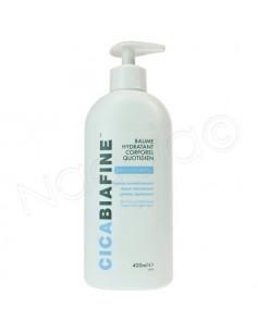 Cicabiafine Baume hydratant corporel quotidien - Peaux très sèches. Flacon pompe 400ml