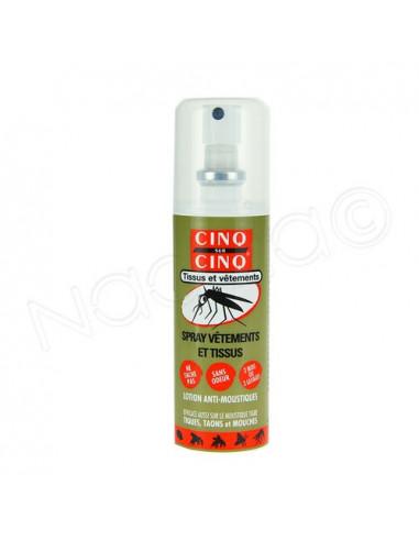 Cinq sur Cinq Spray Vêtement et tissus Insecticide. 100ml