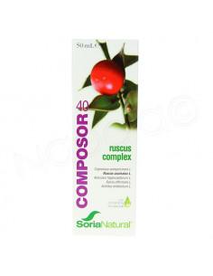 SoriaNatural Composor 40 Venasor Ruscus Complex. 50ml