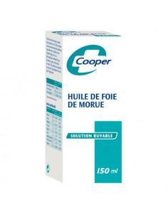 Cooper Huile de Foie de Morue Solution Buvable. 150ml