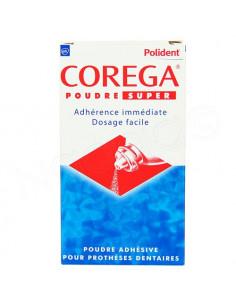 Polident Corega Poudre Super Ashésive pour Prothèses Dentaires. 50g