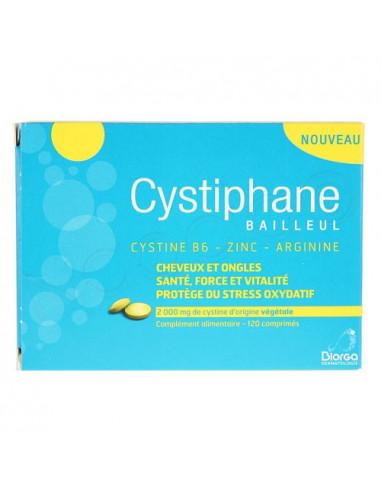 Cystiphane Bailleul Cheveux et Ongles. 120 comprimés