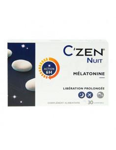 C'Zen Nuit mélatonine 30 comprimés