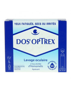 DOS'OPTREX Solution lavage oculaire. 15 Doses de 10ml - ACL 7885616