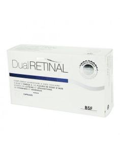 DualRetinal Complément alimentaire à Visée oculaire. 60 capsules