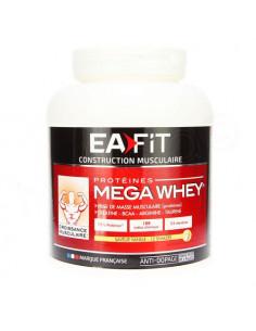 Eafit Mega Whey Protéines saveur Vanille 750g Ea Pharma - 1