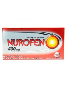 Nurofen 400 mg - 12 comprimés enrobés