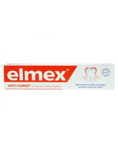Elmex Protection Caries Pâte dentifrice sans menthol Tube 75ml Elmex - 1