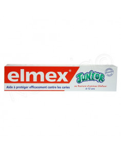 ELMEX Dentifrice junior Tube de 75ml Elmex - 1
