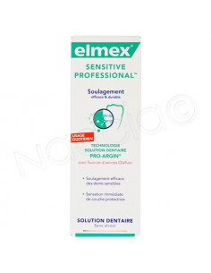 Elmex Sensitive Professional Solution dentaire sans alcool 400ml Elmex - 1