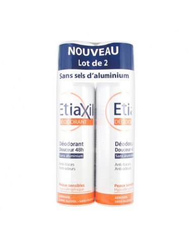 ETIAXIL Déodorant Douceur 48h sans...