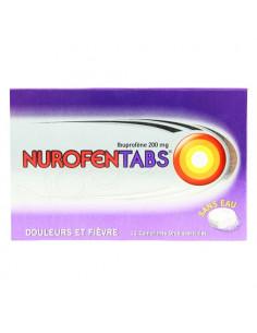 Nurofentabs douleurs et fièvre 200mg 12 comprimés