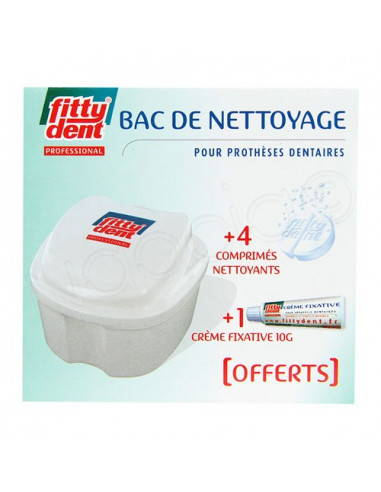 Fittydent Professional Bac de Nettoyage