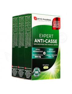 Forté Pharma Expert Anti-Casse Cheveux abîmés Lot 3x40 gélules dont 40 gélules offertes Forté Pharma - 1