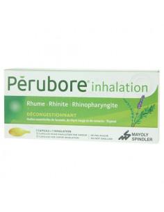 Pérubore Inhalation Décongestionnant 15 capsules pour inhalation par vapeur