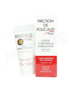 Friction De Foucaud Lotion Corporelle Energisante 250ml  - 1