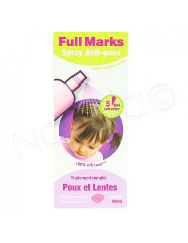 FullMarks Spray Anti-poux et Lentes...
