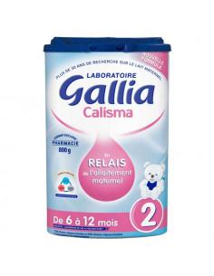 Gallia Calisma 2 Relais Lait en poudre 6-12 mois. 800g