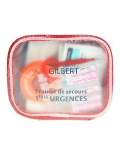 Gilbert Trousse de Secours Essentielle 1ères Urgences