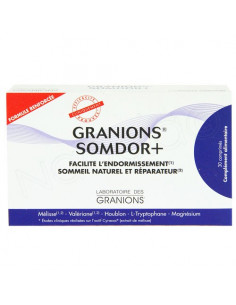 Granions Somdor+. Boite de 30 comprimés