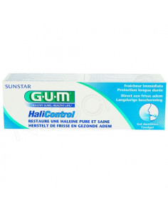 Gum HaliControl Gel Dentifrice Haleine Pure et Saine. 75ml
