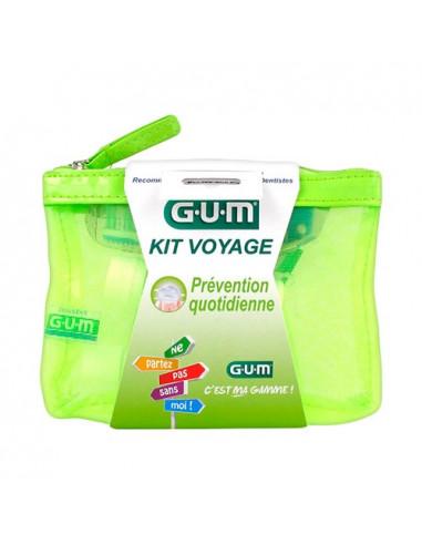Gum Kit Voyage Prévention Quotidienne - trousse de voyage idéale pour les déplacements