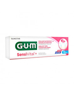Gum SensiVital+ Dentifrice Dents Sensibles. 75ml