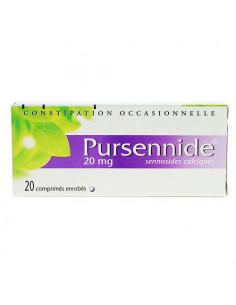 PURSENNIDE 20 mg 20 comprimés enrobés
