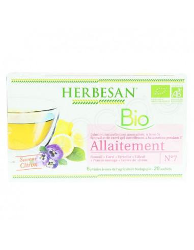 Herbesan Allaitement infusion bio N°7