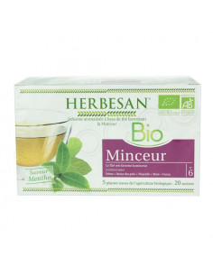 Herbesan Infusion Bio Minceur. 20 sachets