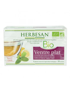 Herbesan Infusion Bio Ventre Plat. 20 sachets