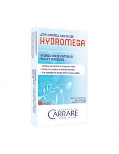 Hydromega Hydratation de l'intérieur peau & muqueuses. 60 capsules - riche en acide gras essentiels