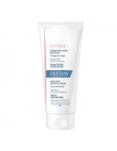 Ducray Ictyane Crème Emolliente Nutritive. 200ml