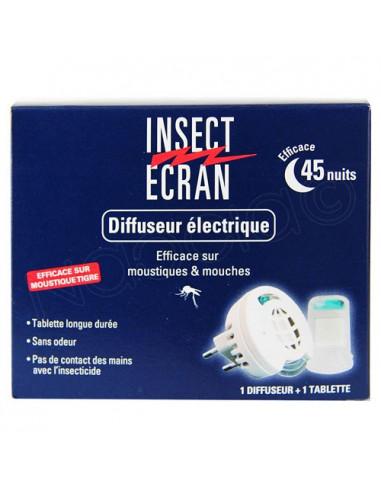 Insect Ecran Diffuseur électrique. 1 diffuseur + 1 tablette