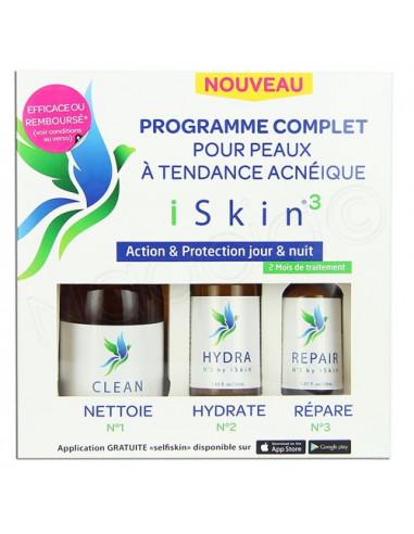 Iskin3 Programme complet contre l'Acné