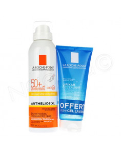 Anthelios XL Brume Invisible SPF50+ 200ml + Lipikar Gel Lavant 100 ml offert