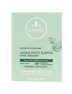 Laino Argile Verte Surfine 100% naturelle. Poudre 300g