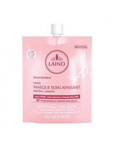 Laino Masque Soin Apaisant Argile Rose Peaux Sensibles. 16g - 98% d'ingrédients d'origine naturelle