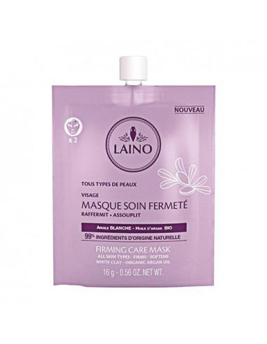 aino Masque Soin Fermeté Argile Blanche. 16g - 99% d'ingrédients d'origine naturels