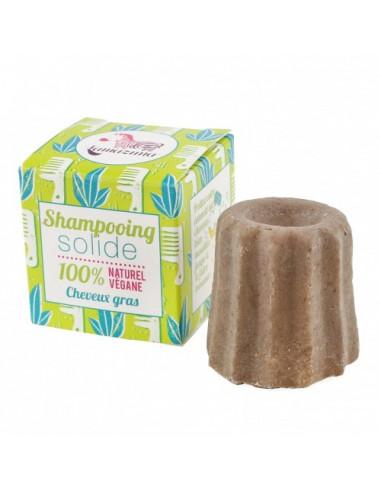 Lamazuna Shampooing Solide Cheveux Gras. 55g