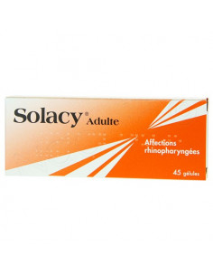 Solacy Adultes Affections rhinopharyngées 45 gélules