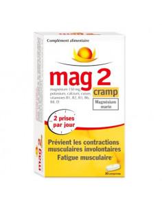 Mag2 Cramp Magnésium Marin. 30 comprimés