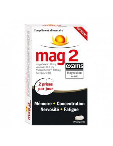 Mag2 Exams. 30 comprimés
