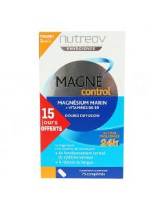 Magné Control Magnésium Marin Double Diffusion. 75 comprimés dont 15 jours OFFERTS